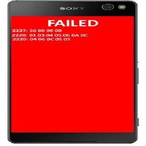 حل مشکل ارور صفحه قرمز بعد از فلش سونی C5 e5533 و C4 Dual c5333